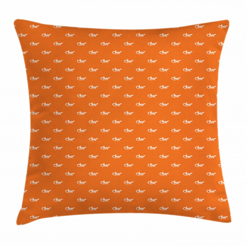 Exotic Wildlife Pattern Pillow Cover