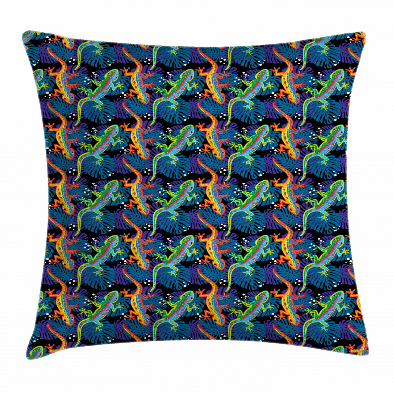 Exotic Flora and Fauna Pillow Cover