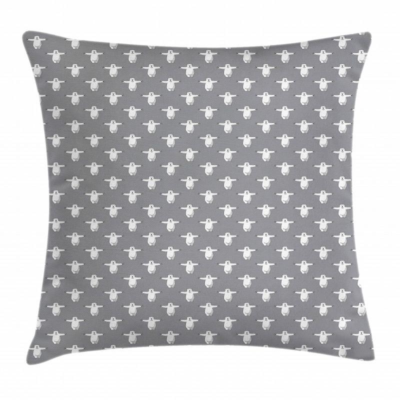 Funny Animals Hug Pillow Cover