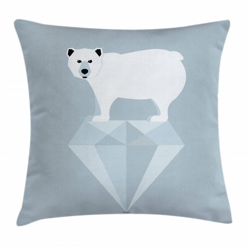 Geometric Animal Pillow Cover