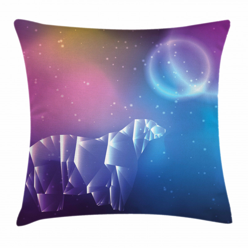 Space Stars Planets Pillow Cover
