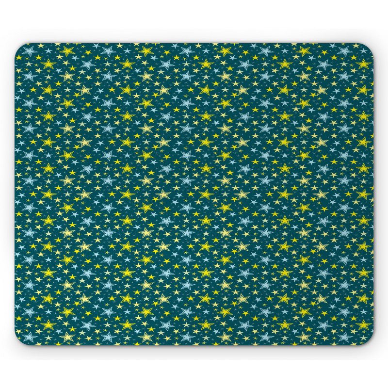 Abstract Art Modern Ornament Mouse Pad