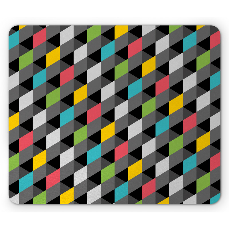 Abstract Art Style Mouse Pad