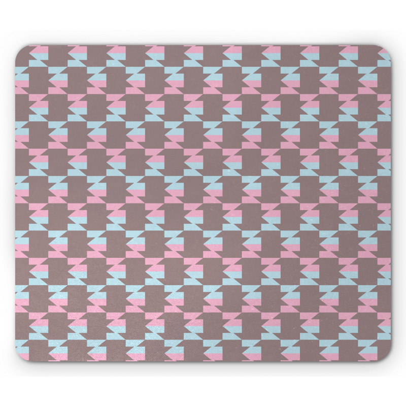 Abstract Arrow Design Mouse Pad