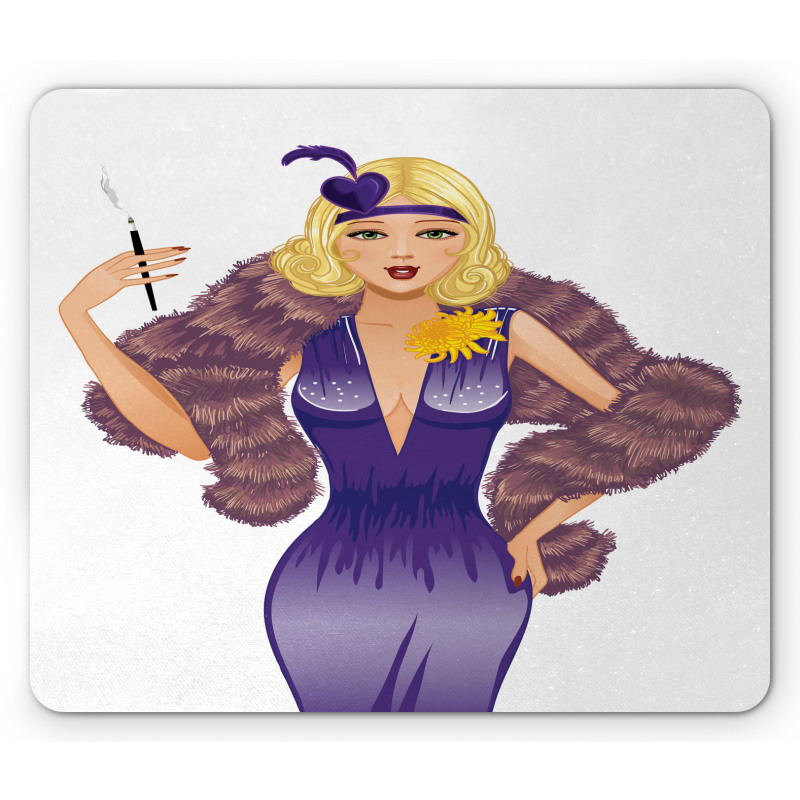 1930s Style Blondie Mouse Pad