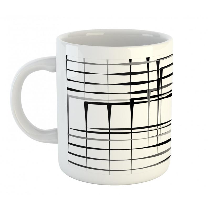Abstract Art Geometric Mug