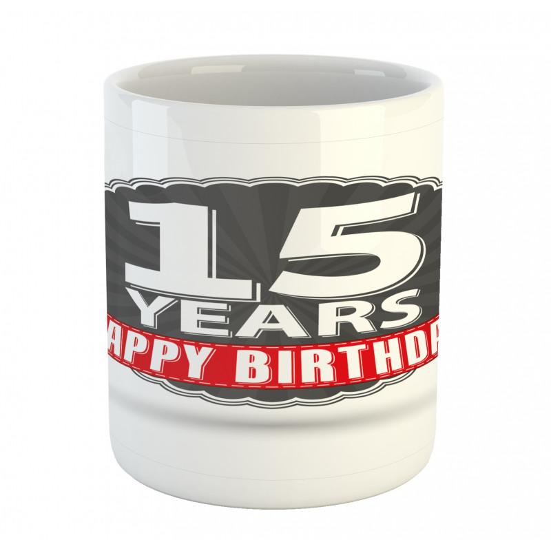 15 Emblem Mug