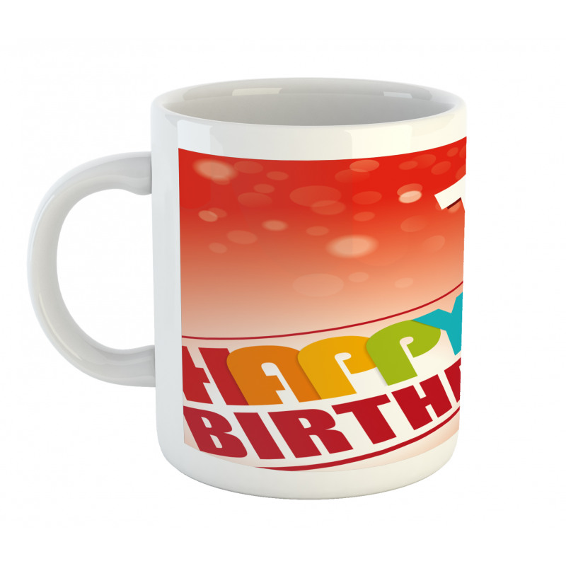 15th Birthday Concept Mug