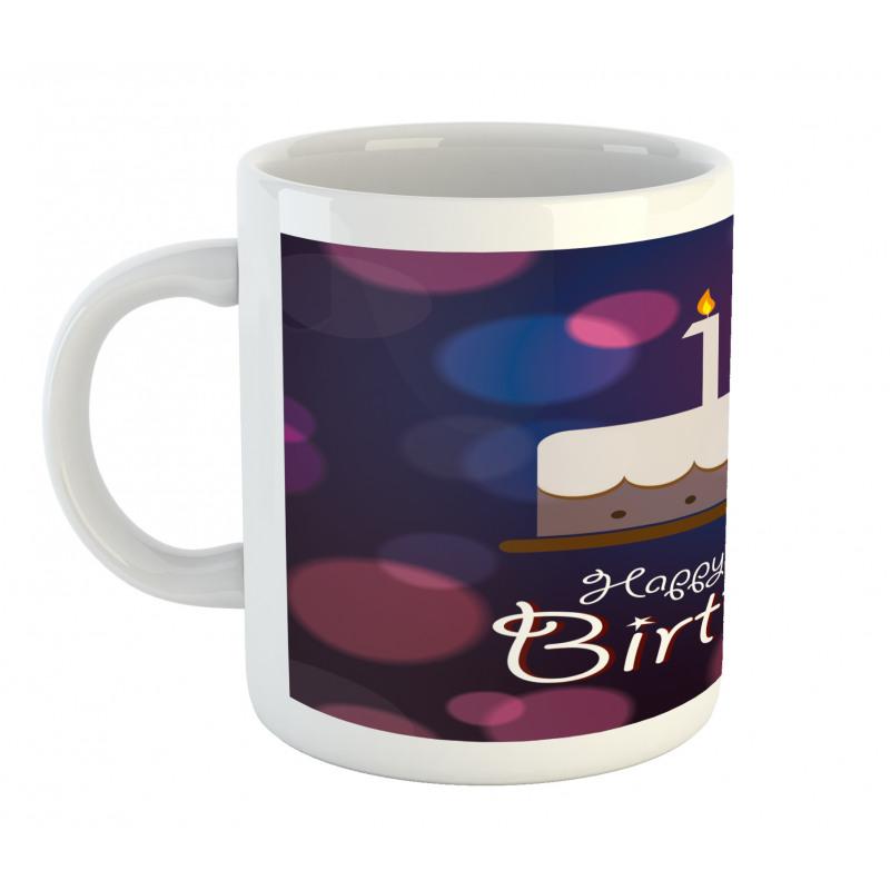 17 Party Cake Mug