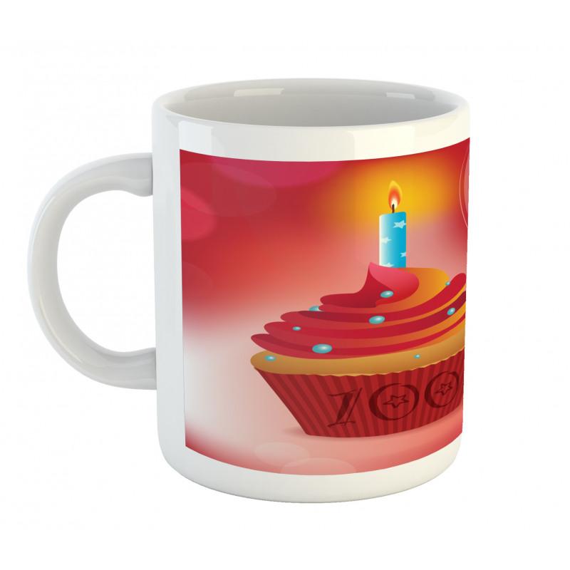 100 Old Cupcake Mug