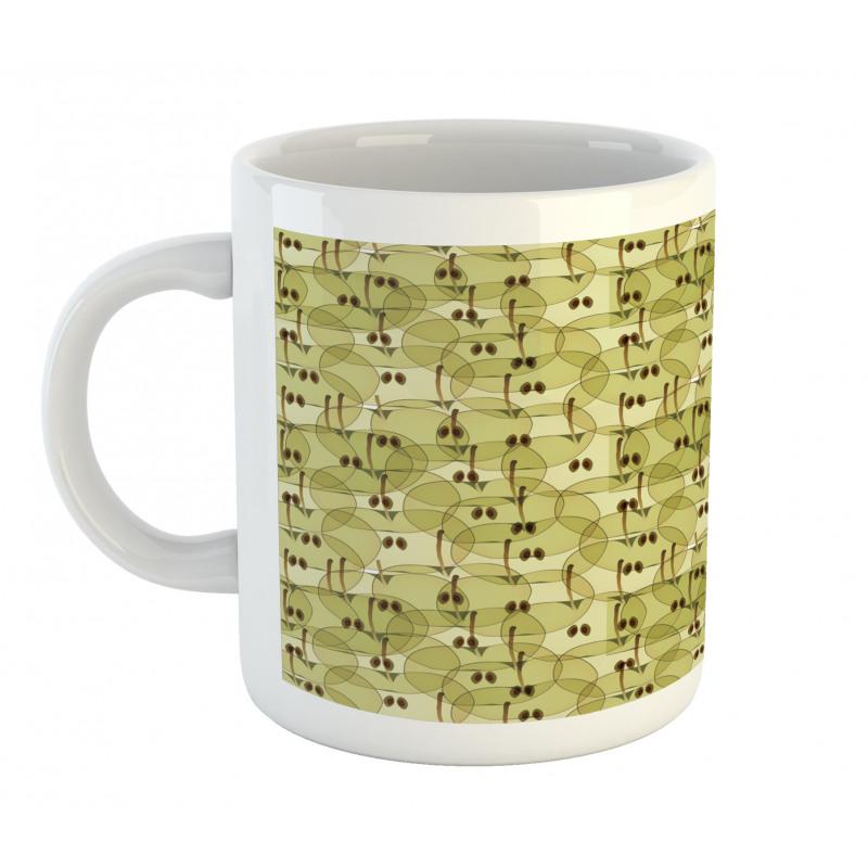 Abstract Autumn Garden Mug