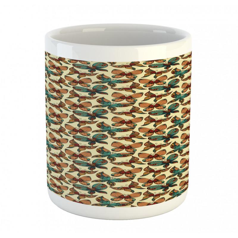 Abstract Art Wings Mug