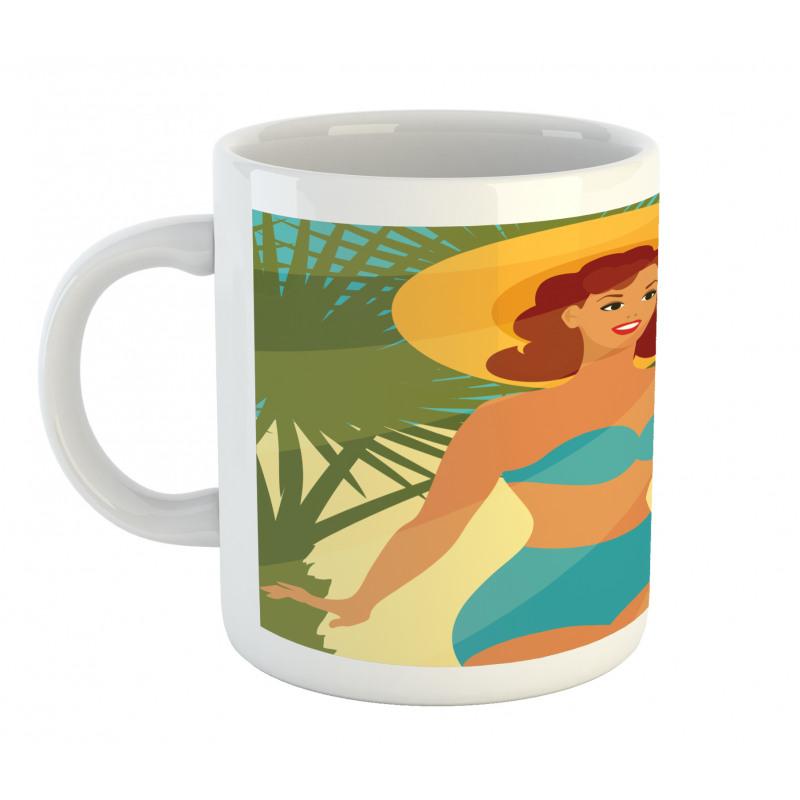 1950s Style Bikini Mug
