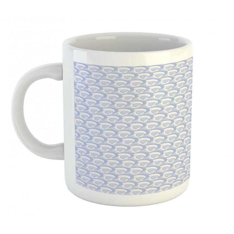 Abstract Art Sea Ocean Waves Mug