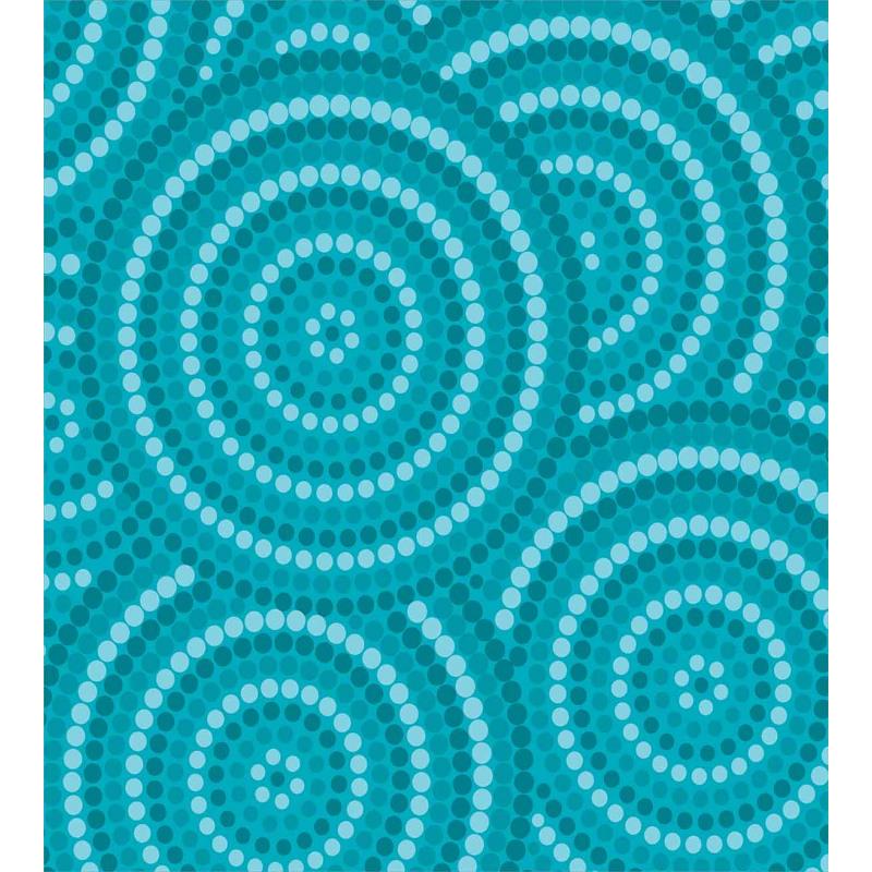 Abstract Australian Dots Duvet Cover Set
