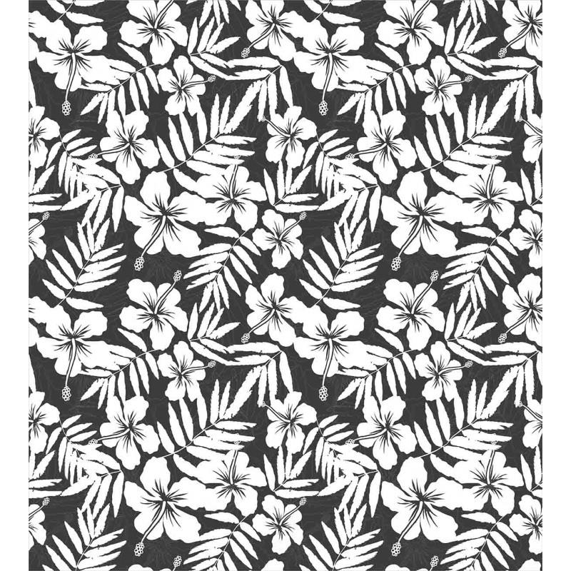 Exotic Hibiscus Flower Duvet Cover Set