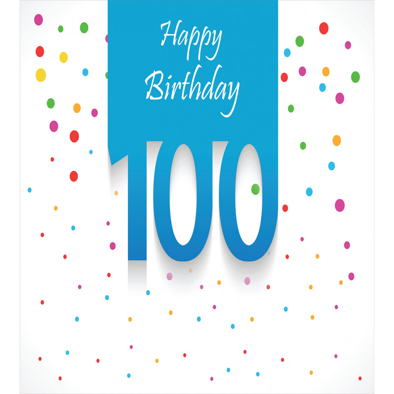 100 Years Birthday Duvet Cover Set