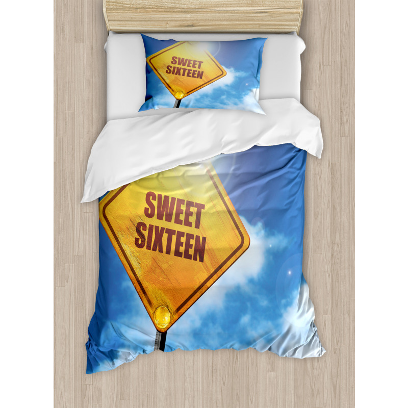 16 Road Duvet Cover Set