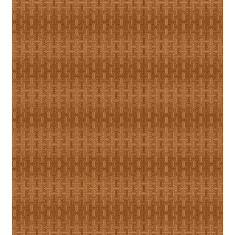 Indonesian Grid Duvet Cover Set