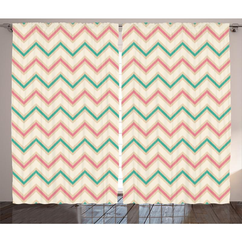 Vintage Insignia Curtain
