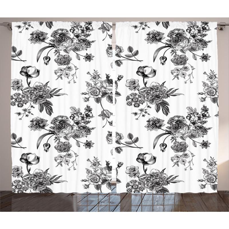 New Modern Art Curtain