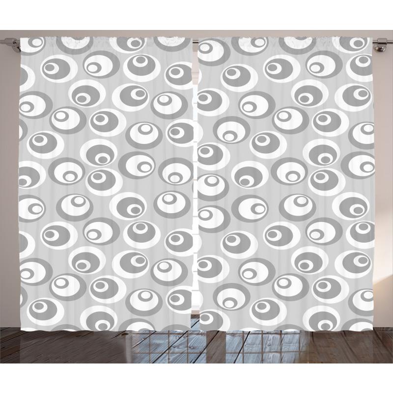 Abstract Art Modern Curtain