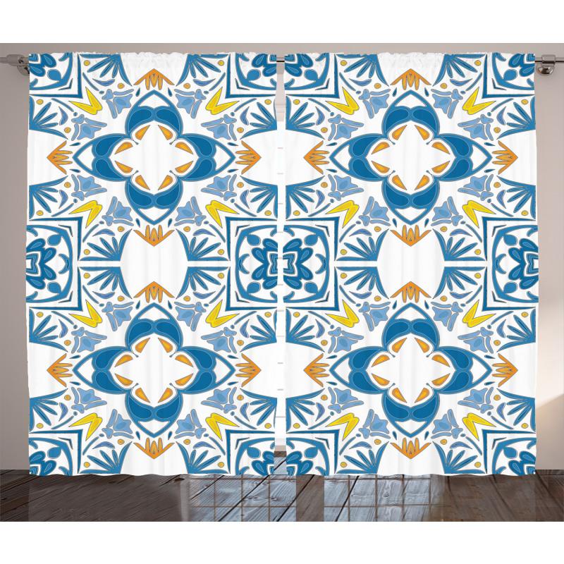 Spanish Retro Curtain