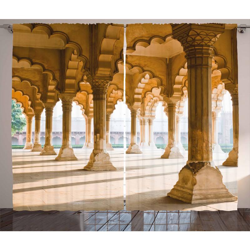 Agra Fort Pillar Curtain