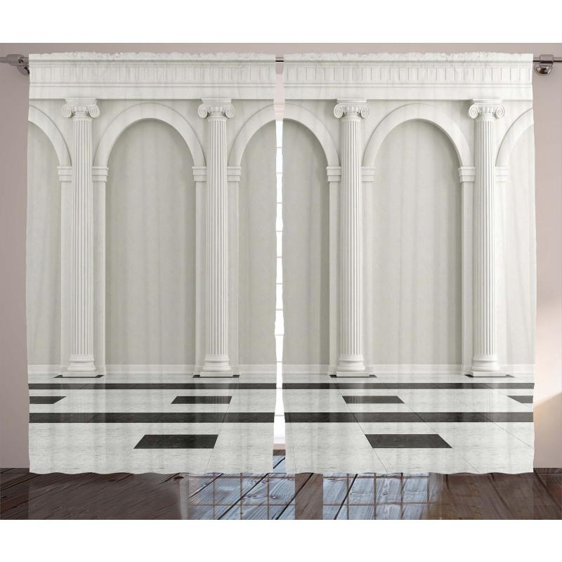 Classic Interior Column Curtain