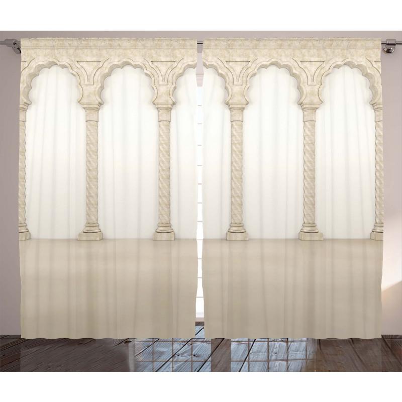 Column Arches Curtain