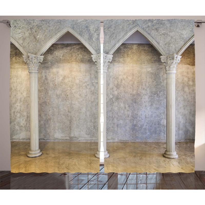 Antique Interior Curtain