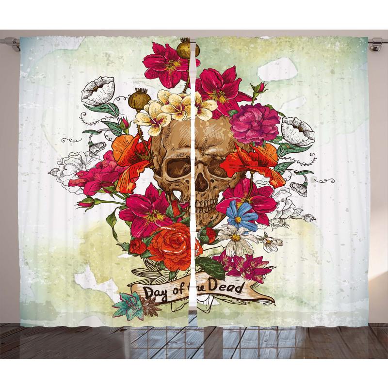 Dead Flowers Spain Curtain