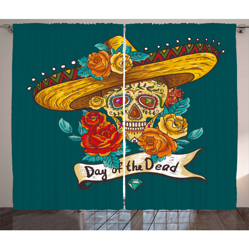 Mexican Hat Curtain