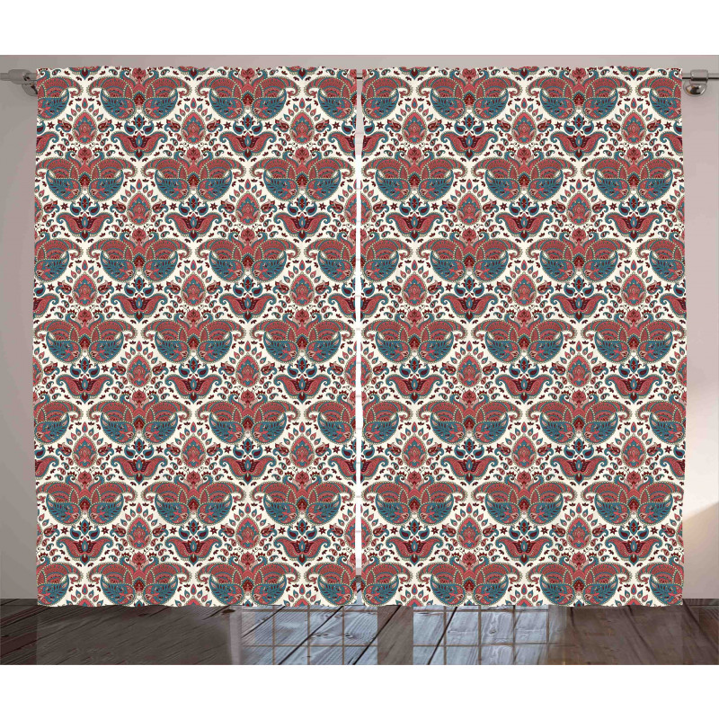 Oriental Persian Curtain