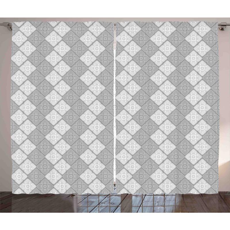 Victorian Oriental Retro Curtain
