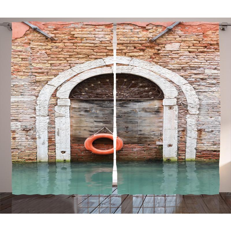 Historical Venice Door Curtain