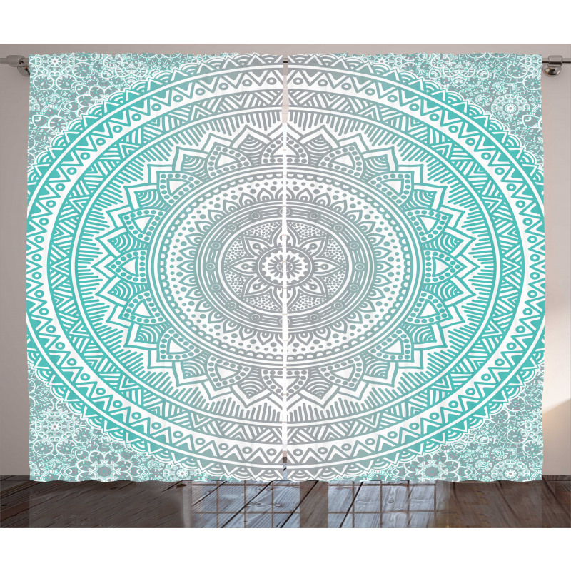 Tribe Mandala Curtain