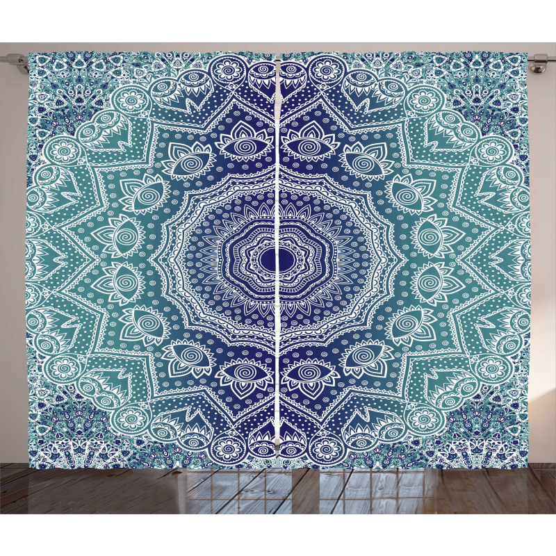 Ombre Tribe Curtain