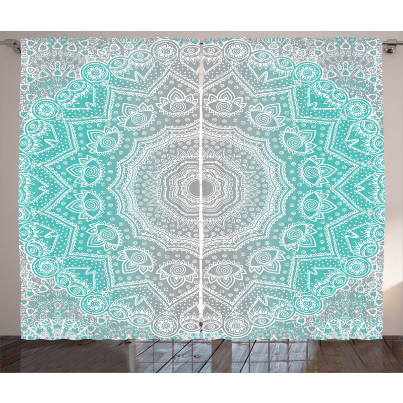 Ombre Ethnic Curtain