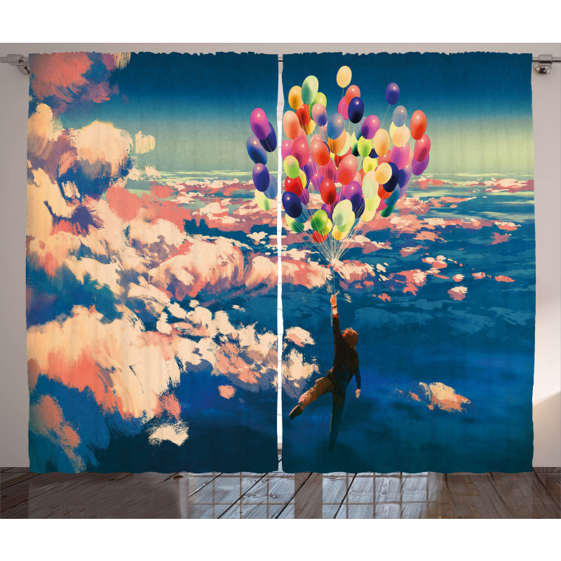 Flying Colors Balloon Curtain