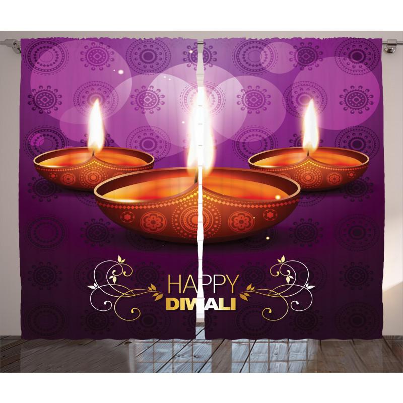 Diwali Asia Curtain