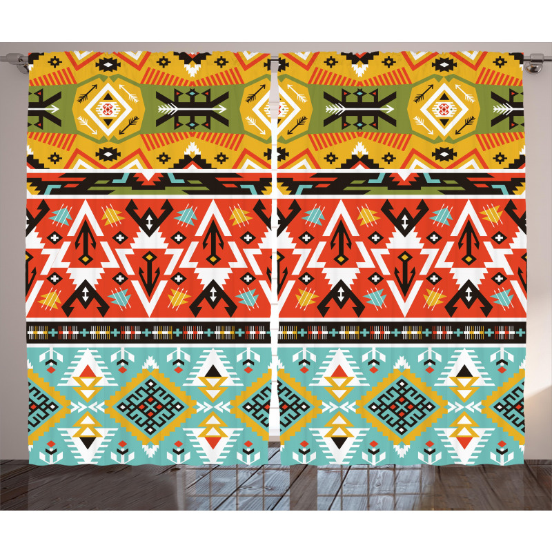 Love and Adventure Aztec Curtain