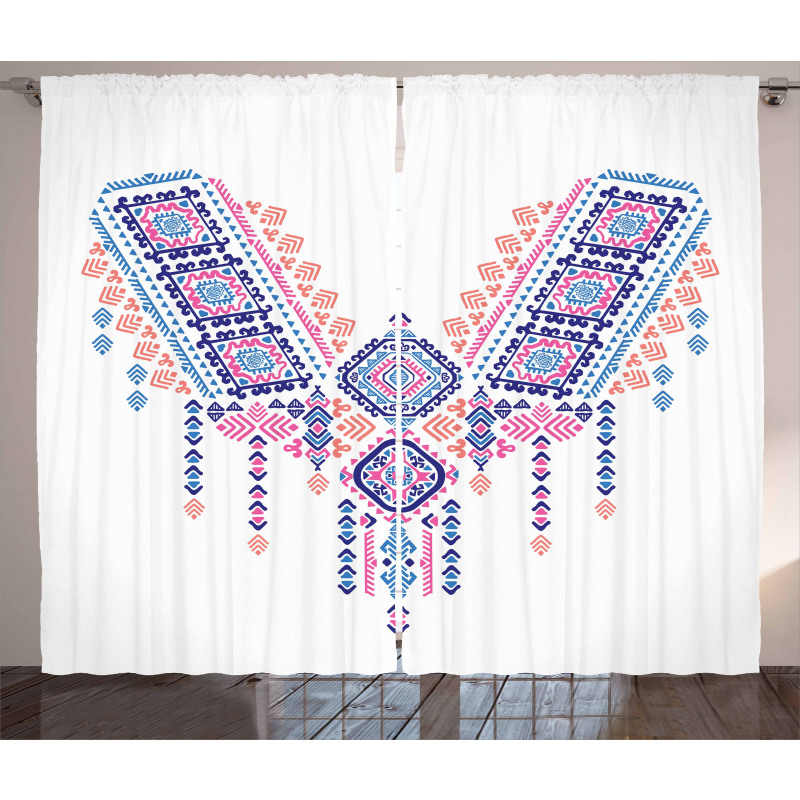 Geometric Design Curtain