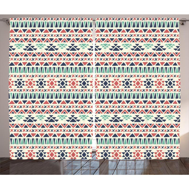 Native Artwork Curtain