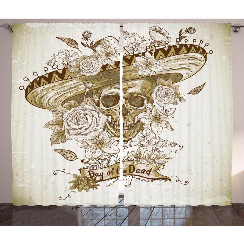 Spanish Dead Hat Curtain
