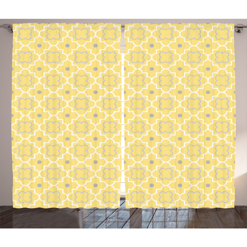Pattern with Moroccan Curtain