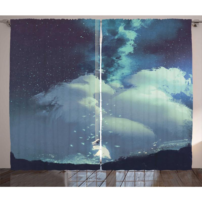 Handmade Symbolic Day Curtain