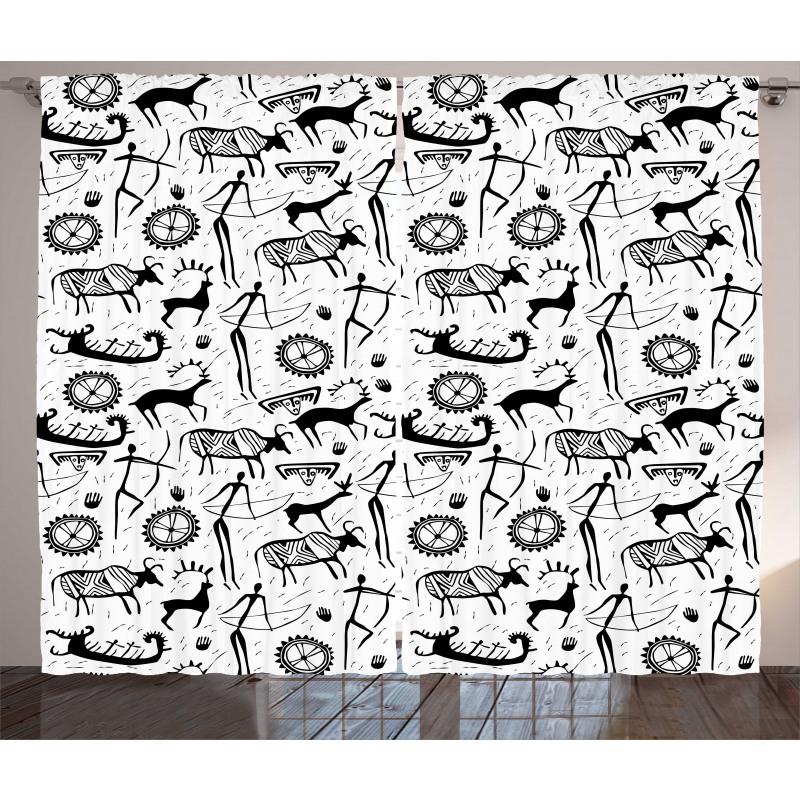 Pattern Animal Curtain