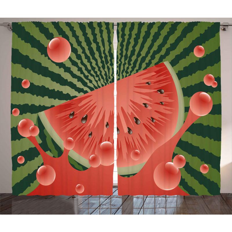 Vegetarian Garden Health Curtain