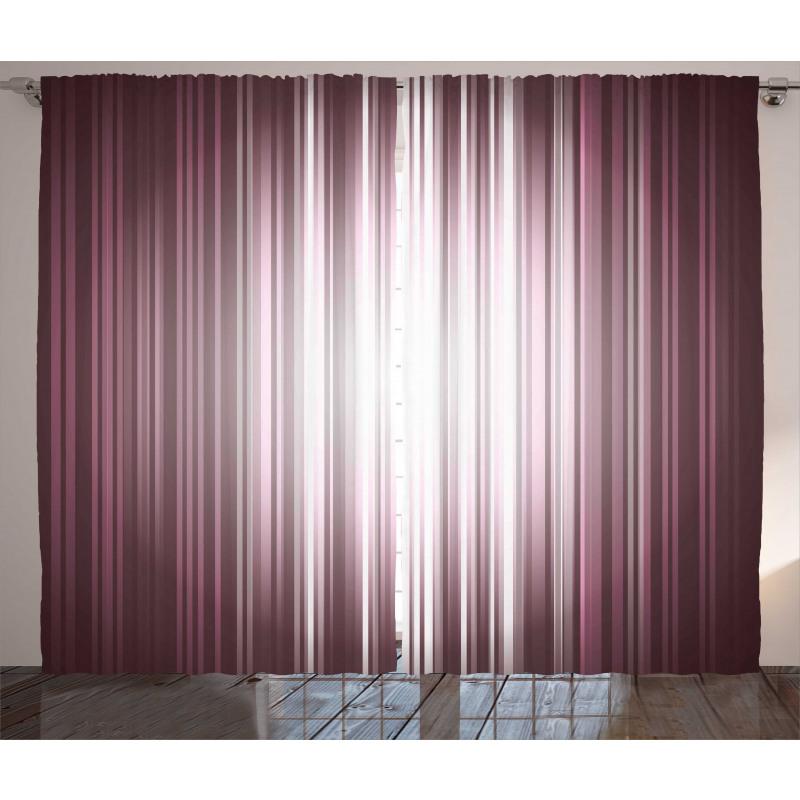 Futuristic Computer Art Curtain